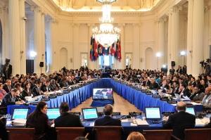 Asamblea General Extraordinaria de la OEA, 22 de marzo de 2013 (foto OEA)
