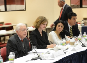 Ex Presidente Jimmy Carter se reune con Embajadores ante la OEA sobre la reforma de la CIDH (foto AU)