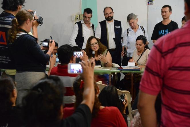 Visita de la CIDH a México Foto: Daniel Cima/ CIDH