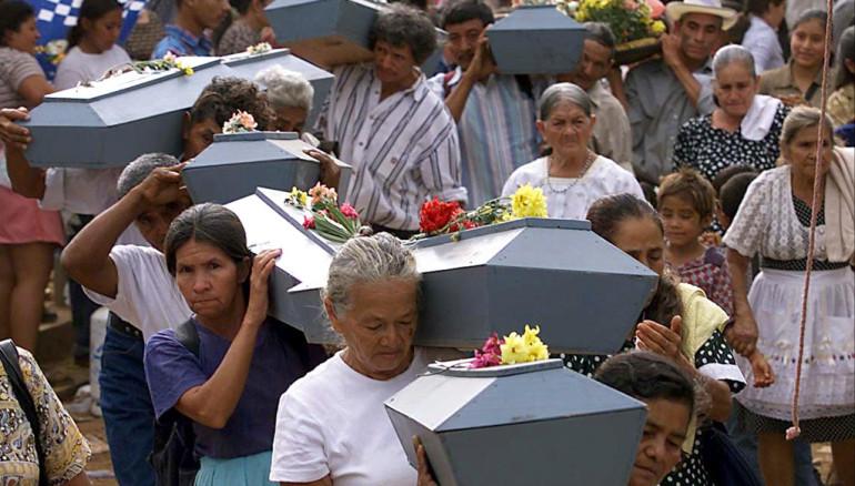 EL SALVADOR/MASACRE/ANIVERSARIO
